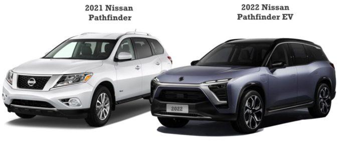 2022 Nissan Pathfinder Plug In EV vs 2021 Nissan Pathfinder