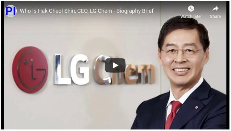 Hak Cheol Shin lg chem ev batteries