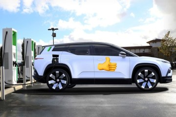 thumbs up fisker-ocean-electrify-america-charging-network