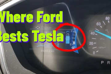 Where Ford Beats Tesla in Electric Vehicles