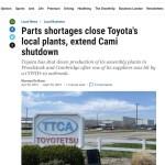 toyota shutdown