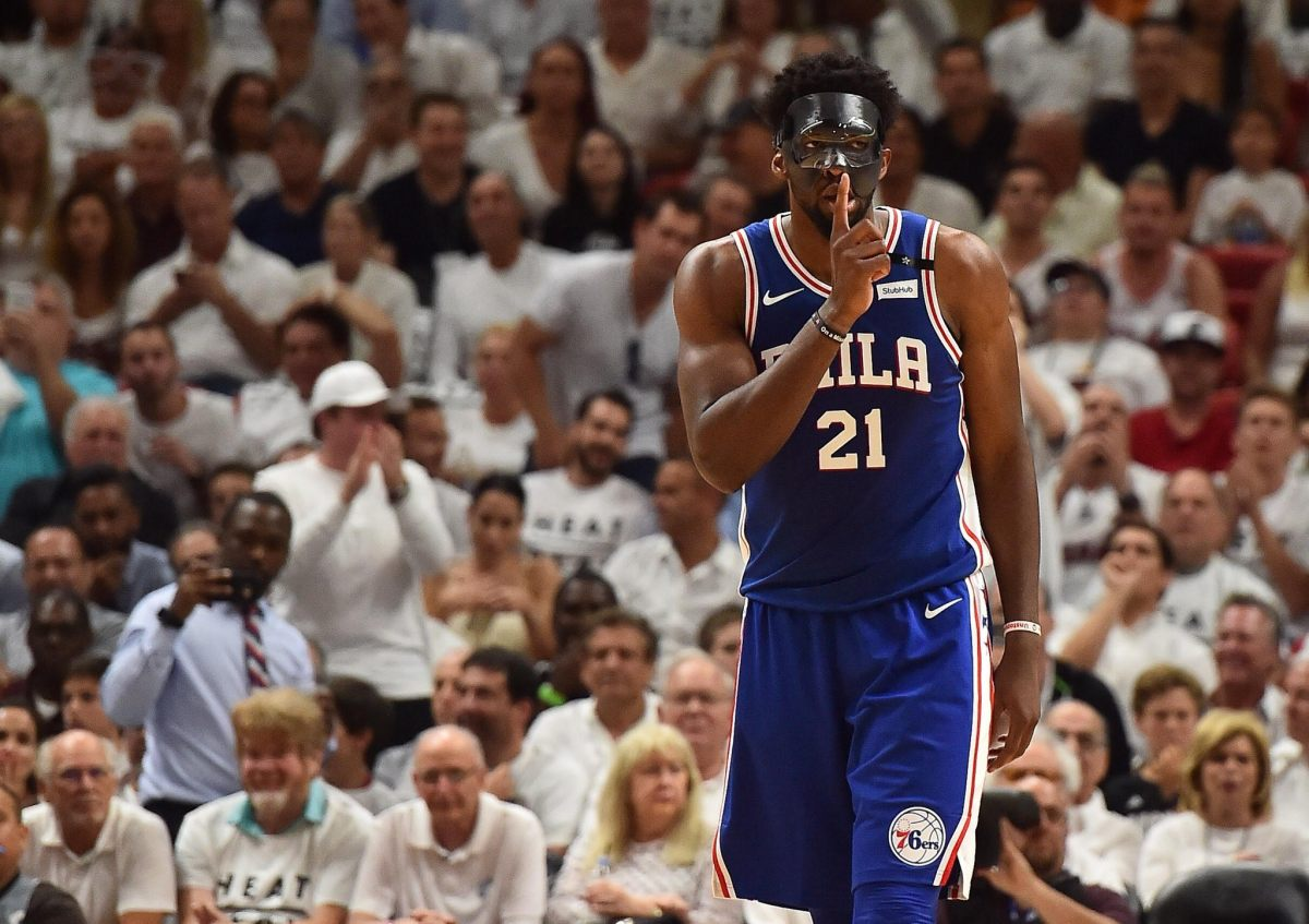 "The Miami Heat are a Bunch of Scumbags But the Sixers Win ""The Mask"" Game"
