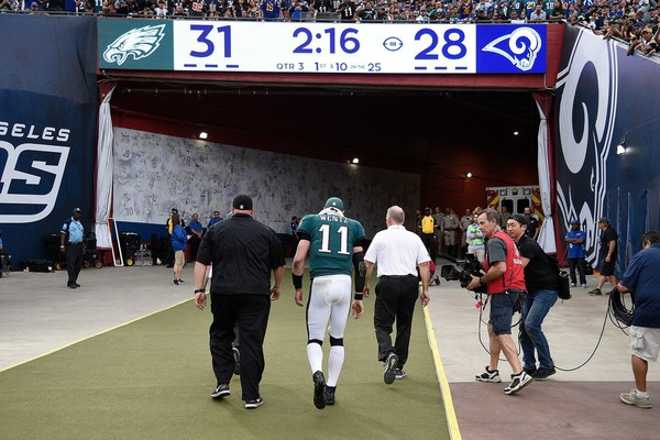 Carson Wentz: Probably Not Playing This Week or Again This Season