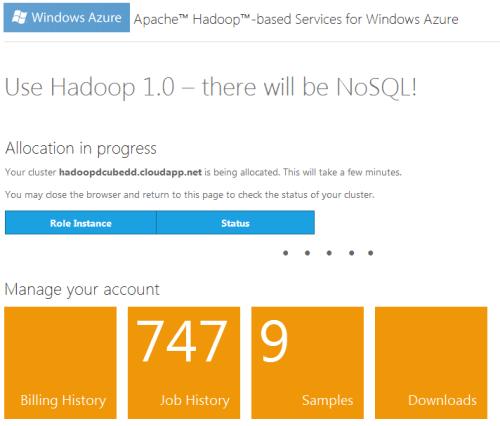 Hadoop Azure New 2
