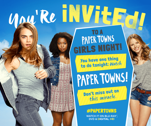 Paper Towns Girls Night