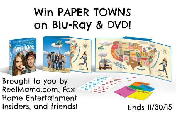Paper Towns on Blu-Ray