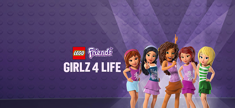 Lego Friends Girlz 4 Life Blu-Ray
