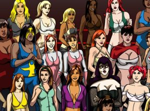 You can name all of the ladies, right?