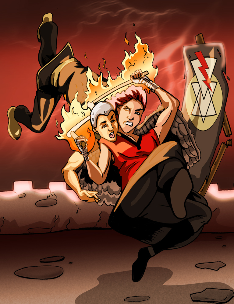 Commission Monday- Fighting OC's