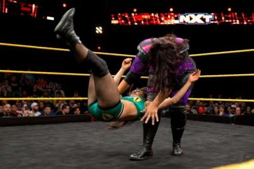 CREDIT: WWE Nia Jax vs Deonna Purrazo