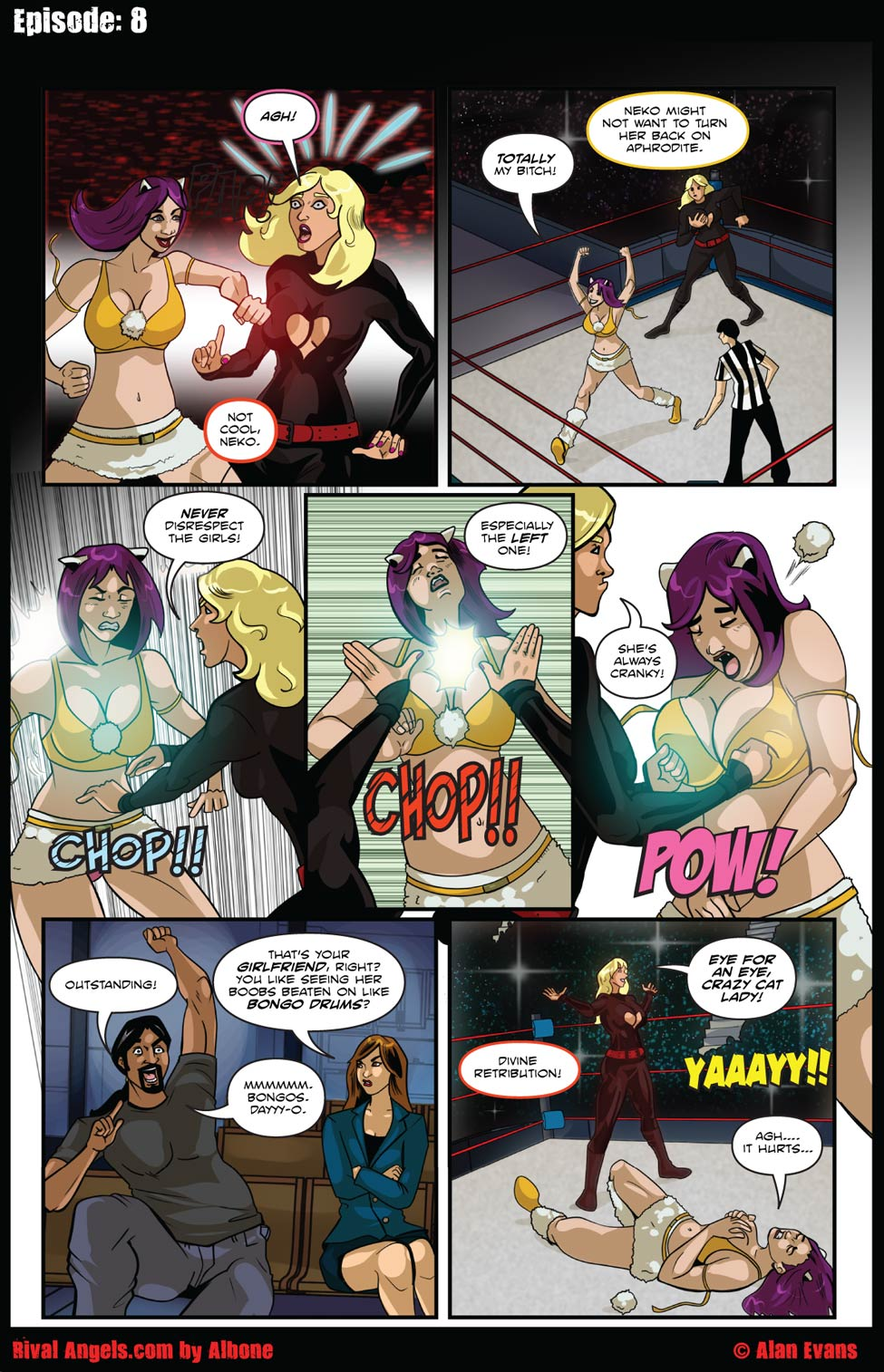 Chapter 06— Page 8-Boob Punch