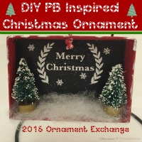 DIY Pottery Barn Inspired Christmas Ornament