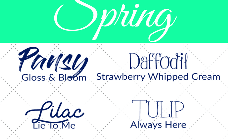 10 Best Free Fonts for Spring | www.RhinestonesandSweatpants.com