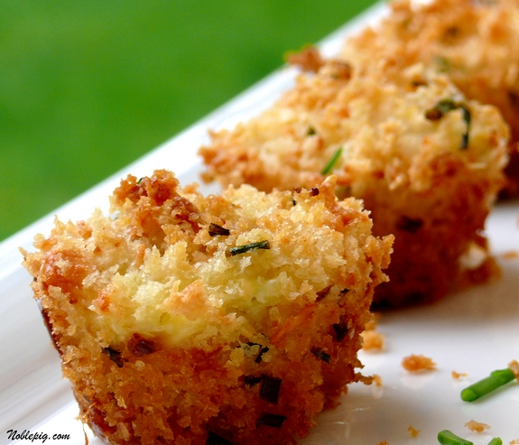 Mini Crab Cakes by the Noble Pig