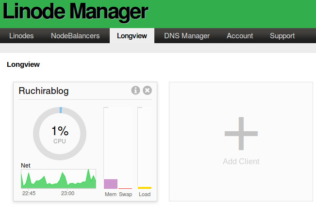 longview beta Linode Longview