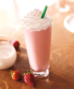 strawberry frappuccino