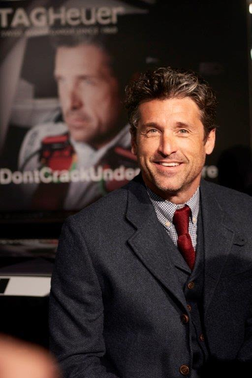 patrick dempsey_F1 Red Bull Racing