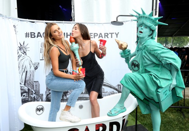 NEW YORK, NY - JUNE 03: Tom Howie and Jimmy Vallance of Bob Moses attend BACARDI presents the BACARDI UNTAMEABLE HOUSE PARTY at Governors Ball Music Festival at Governor's Island on June 3, 2016 in New York City. (Photo by Rob Kim/Getty Images for Bacardi