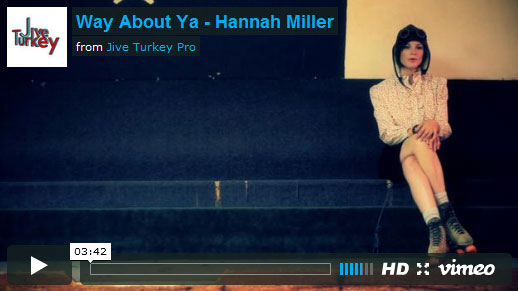 New Music Video from Hannah Miller