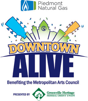 Greenville Downtown Alive 2012 Schedule