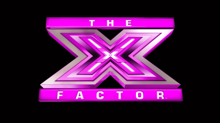 THE X FACTOR: Pink logo.