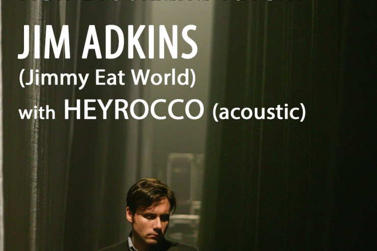 Jim Adkins of Jimmy Eat World Visits Columbia on First Solo Tour