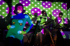 of Montreal at The 40 Watt Club, 2 Sep 2016 (photo: C. Guirl)
