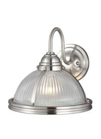 41085EN-962,One Light Wall Sconce,Brushed Nickel