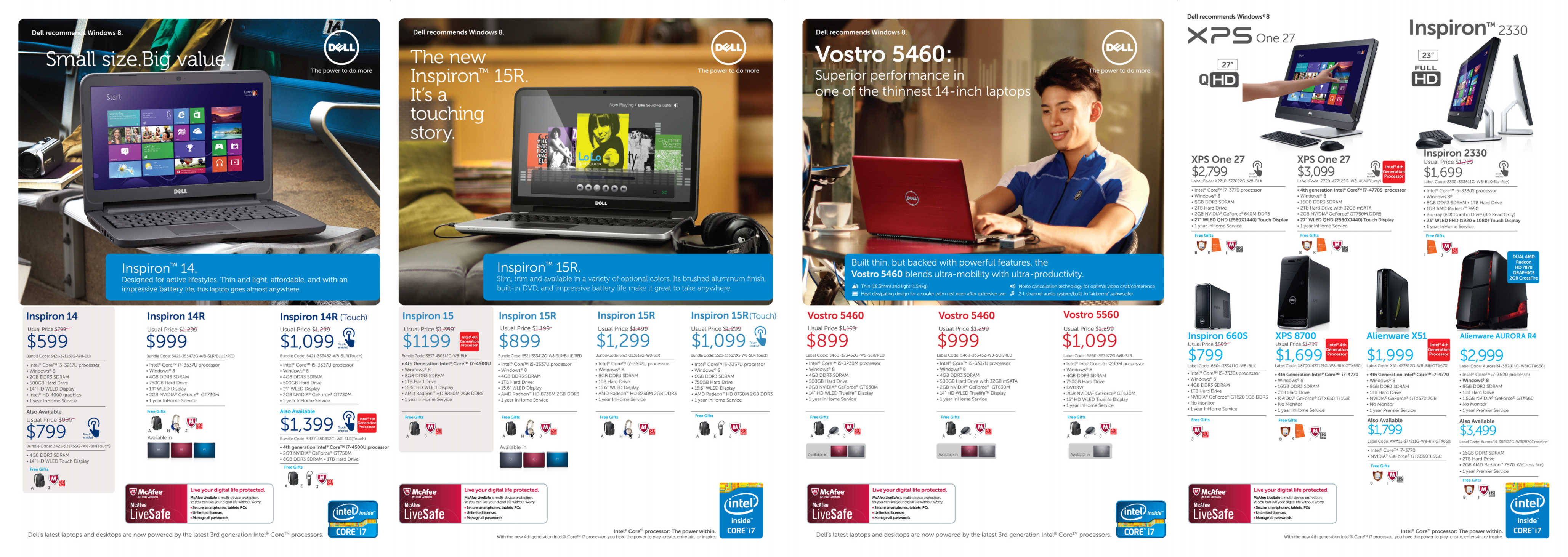 EX 2013 – DELL Price List and Promotions