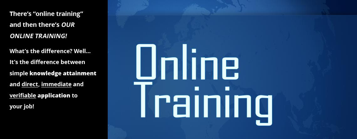 Slider 1 Online Training