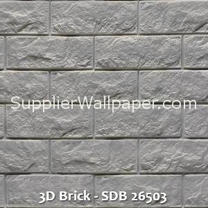 3D Brick - SDB 26503