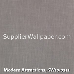 Modern Attractions, KW10-0212