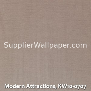 Modern Attractions, KW10-0707
