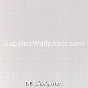 DE CASA, A12-1