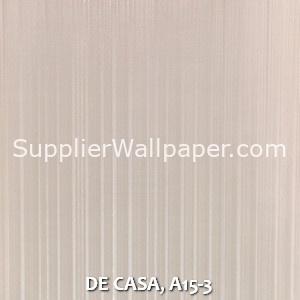 DE CASA, A15-3