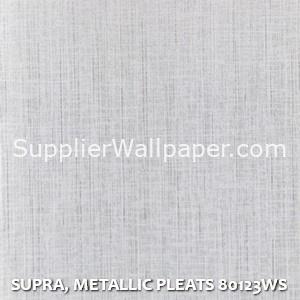 SUPRA, METALLIC PLEATS 80123WS