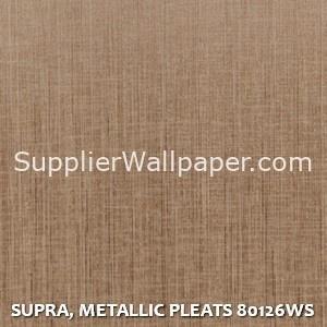 SUPRA, METALLIC PLEATS 80126WS