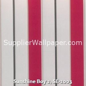 Sunshine Boy 2, SE-2003