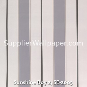 Sunshine Boy 2, SE-2005