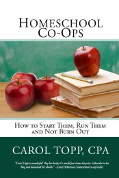 Carol Topp Homeschool Co-ops