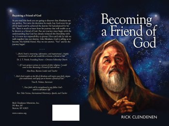Becoming a Friend of God by Rick Clendenen
