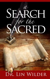 Search for the Sacred by Lin Wilder