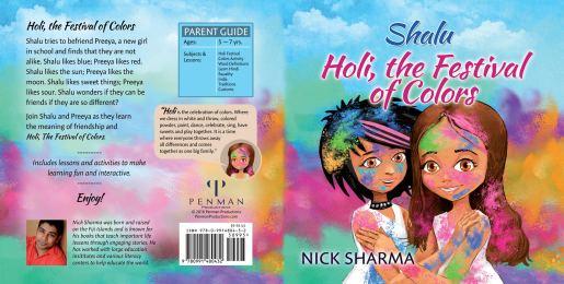 Shalu, Holi Festival of Colors by Nick Sharma