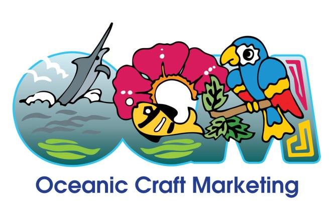 Oceanic Craft Marketing : Logo Design by Suzanne Fyhrie Parrott