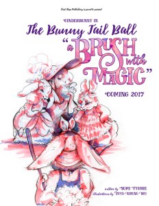 "Cinderbunny in the Bunny Tail Ball ~ ""A Brush With Magic"" by Sumi Fyhrie"