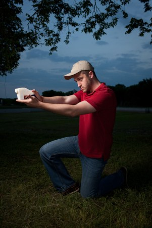 First 3D printed gun fired- photo by Michael Thad Carter for Forbes