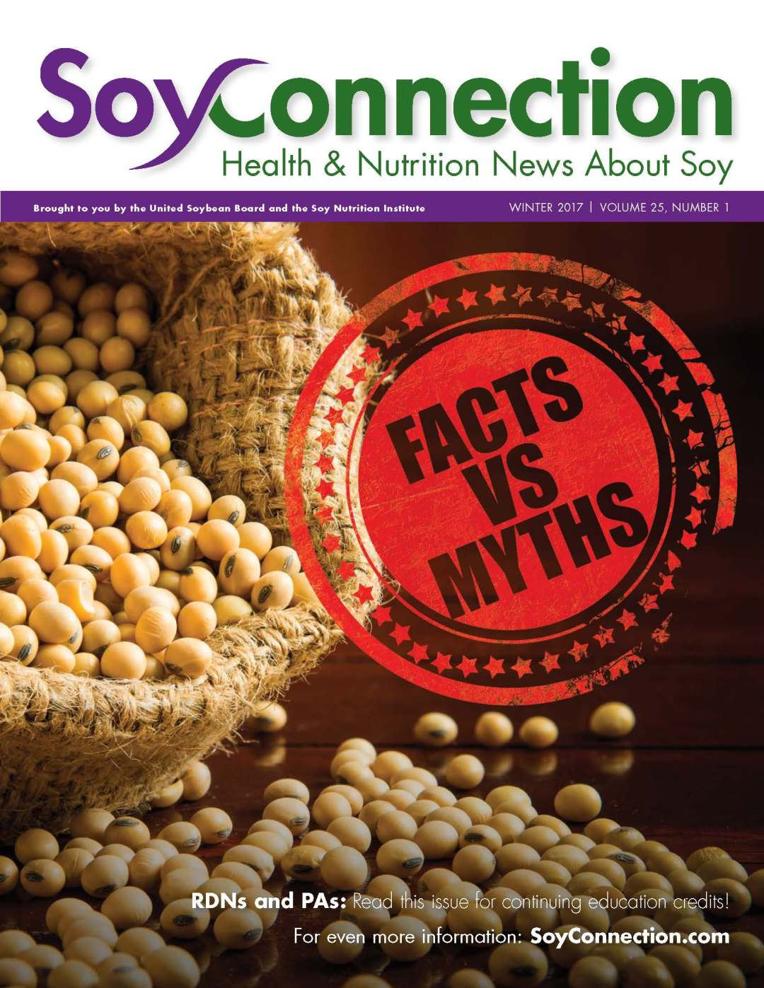 Soy Connection Facts vs. Myths