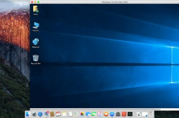How to Remote Access Windows 10 with Mac OS X