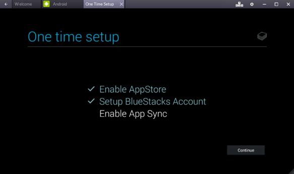 Enabling App Sync
