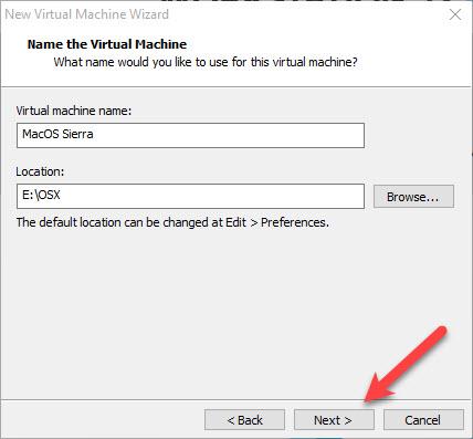 Customize the VM